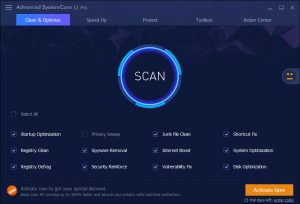 Advanced SystemCare PRO 12.4.0.351 Crack Full Serial Key Free